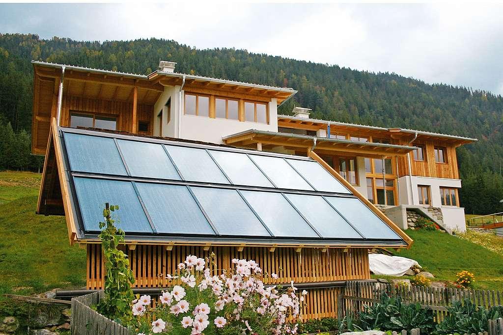 Ein Bad voll Sonnenenergie • HSH-Installatör