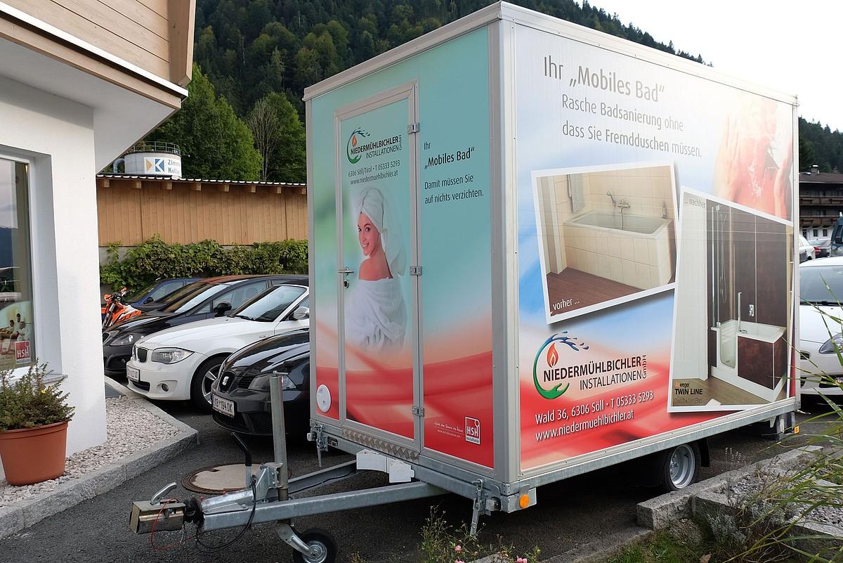 Installationen niederm hlbichler ihr profi f r geb udetechnik - Mobiles badezimmer ...