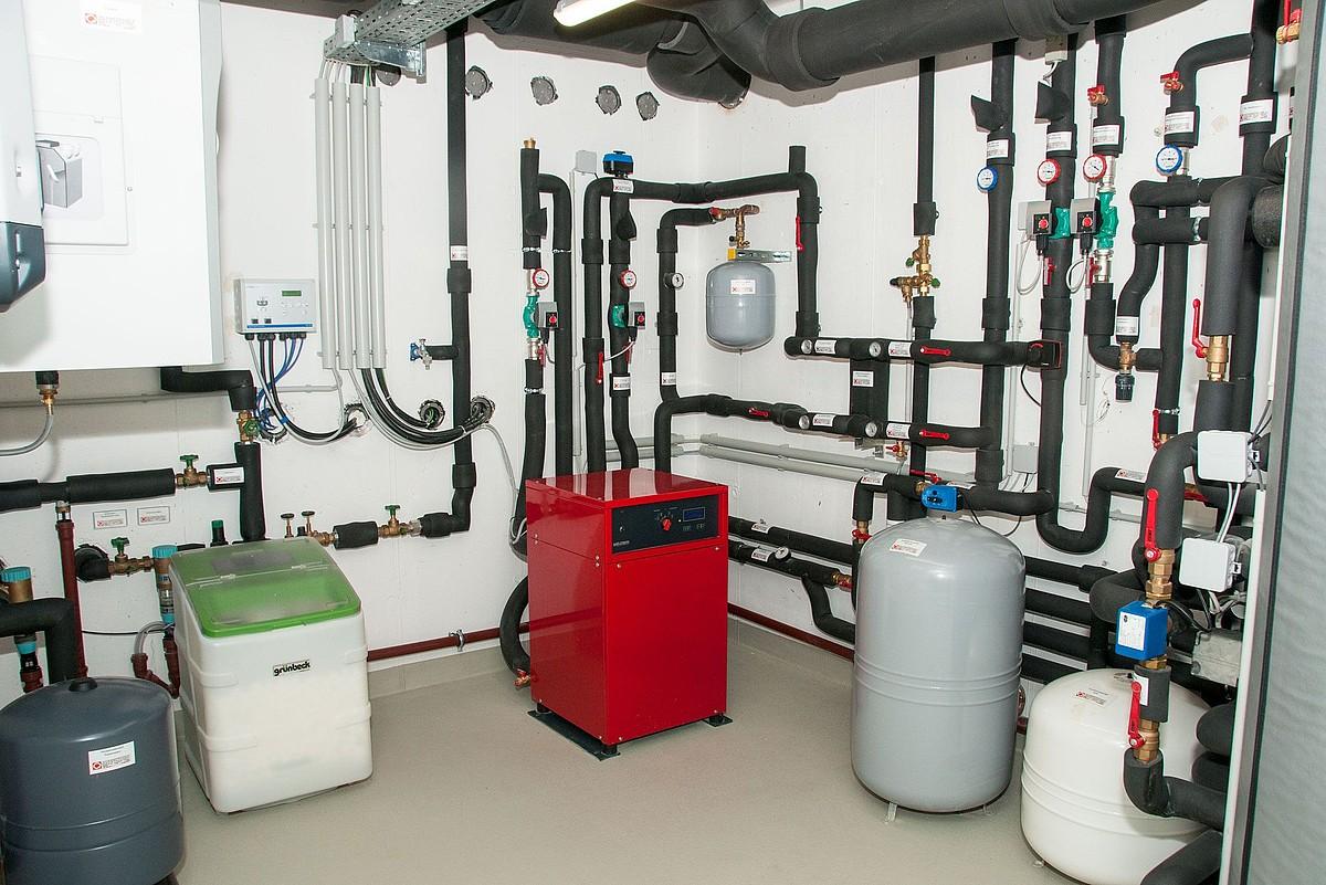 Moderne Heizung Einfamilienhaus praxisbeispiel weinberg • kühlen und klimatisieren • hsh-installatör