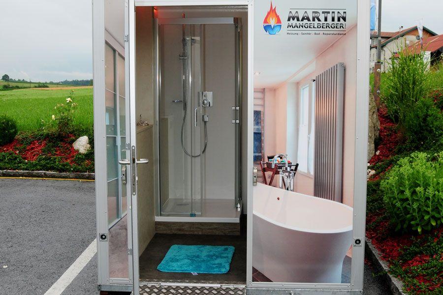 Unser Mobiler Badcontainer Ist Ein Vollausgestattetes, Modernes Komfortbad  Mit Allem Drum Und Dran: Von WC, Waschbecken Und Komfortdusche über Heizung,  ...